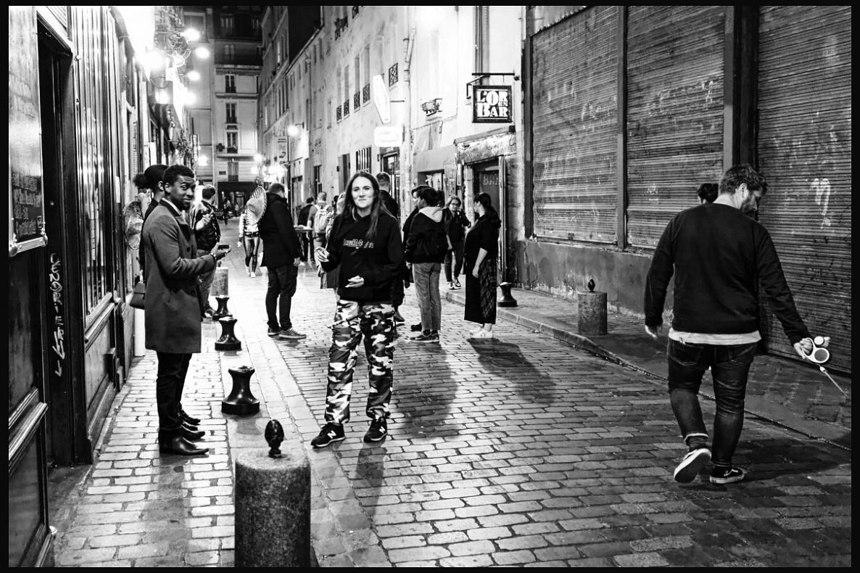Un vendredi soir à Paris