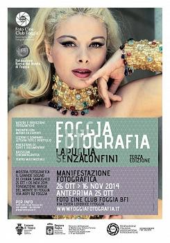 """Collettiva Fotografica """"Foggia Fotografia- la Puglia senza confini"""" III^ ediz - Riconoscimento FIAF S35/2014"""