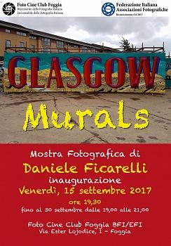 """Personale """"Glasgow murals"""" Riconoscimento FIAF: S21/2017"""