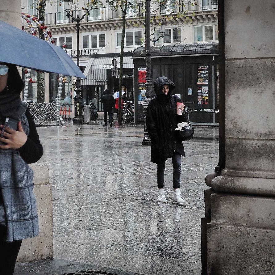 50 mm Paris sous la pluie