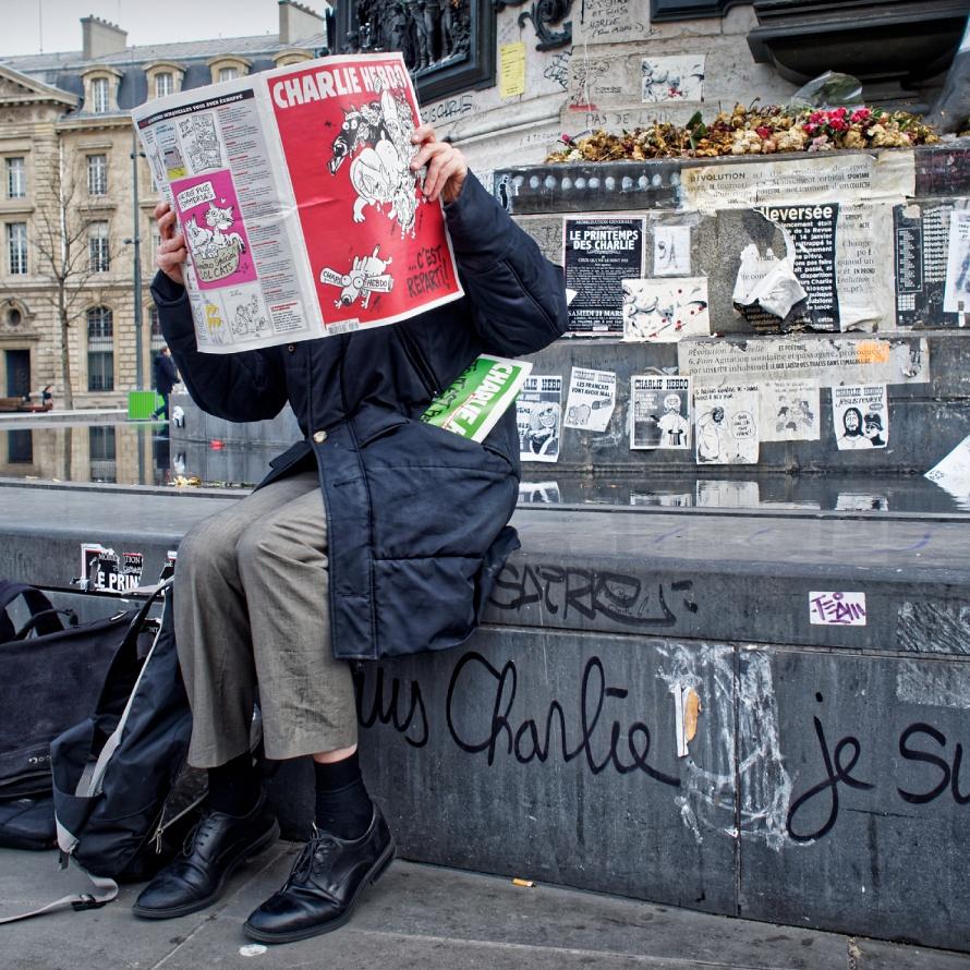 Paris est vivant, Vive Paris... Je suis Charlie