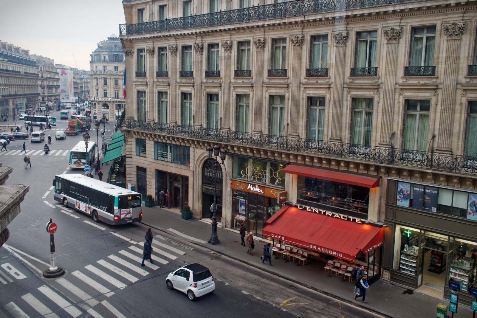 Paris vue de l'Opéra
