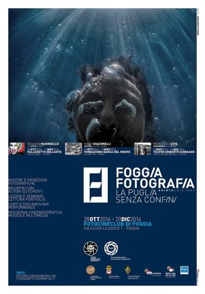 """Collettiva """"Foggia Fotografia-la Puglia senza confini- V edizione  Ric FIAF S36/2016"""